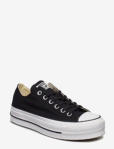 Chuck Taylor All Star Lift - lave sneakers - black/white/white