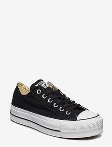 Chuck Taylor All Star Lift - sneakers med lav ankel - black/white/white