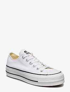 Chuck Taylor All Star Lift - lave sneakers - white/black/white