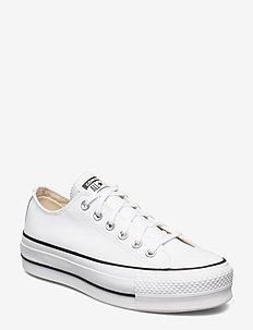 CTAS LIFT CLEAN OX - chunky sneakers - white/black/white