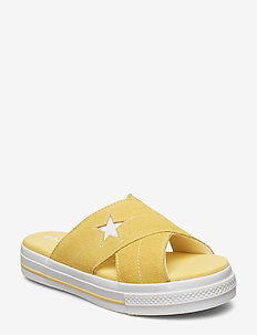ONE STAR SANDAL SLIP - BUTTERYELLOW/EGRET