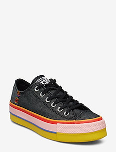 CTAS LIFT OX - BLACK/WHITE/COASTAL PINK