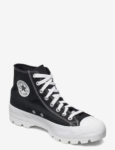 CTAS LUGGED HI - høje sneakers - black/white/black