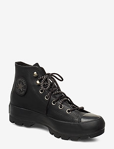 CHUCK TAYLOR ALL STAR - sneakersy wysokie - black/thunder grey/mouse