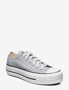 Chuck Taylor All Star Lift - lave sneakers - wolf grey/white/black