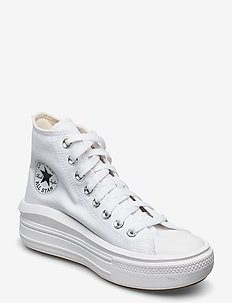 CHUCK TAYLOR ALL STAR MOVE - baskets montantes - white