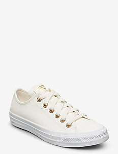 CHUCK TAYLOR ALL STAR - tenis - egret/gold