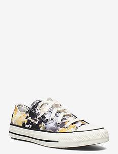 CTAS OX EGRET/SESAME/BLACK - lave sneakers - egret/sesame/black