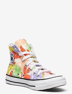 CTAS HI EGRET/BLACK/WHITE - høje sneakers - egret/black/white
