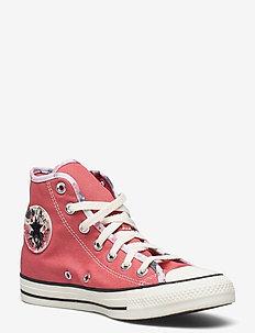 CTAS HI TERRACOTTA PINK/EGRET/BLACK - høje sneakers - terracotta pink/egret/black