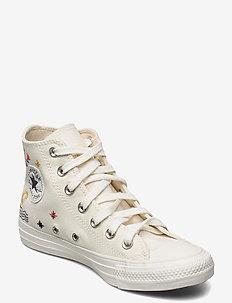 CTAS HI EGRET/VINTAGE WHITE/BLACK - hoge sneakers - egret/vintage white/black