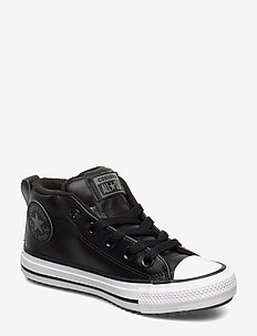 CHUCK TAYLOR ALL STAR STREET BOOT - MID - baskets - black