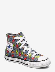 CHUCK TAYLOR ALL STAR - HI - sneakers - stone/brick
