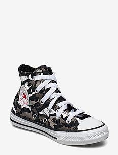 CTAS HI BLACK/UNIVERSITY RED/WHITE - sneakers - black/university red/white