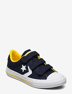 STAR PLAYER 3V OX OBSIDIAN/AMARILLO - sneakers - obsidian/amarillo/white