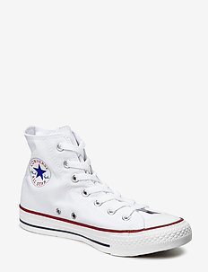 ALL STAR HI - niedriger schnitt - optical white