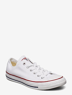 ALL STAR OX - niedriger schnitt - optical white
