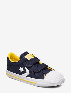 STAR PLAYER 2V OX OBSIDIAN/AMARILLO - sneakers - obsidian/amarillo/white