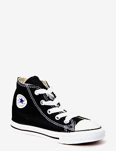 Small Star Canvas Hi - sneakers - black