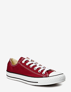 All Star Canvas Ox - MAROON