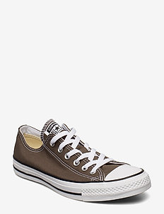 All Star Canvas Ox - lav ankel - charcoal