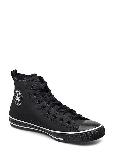 Chuck Taylor All Star Hi Hohe Sneaker Schwarz CONVERSE