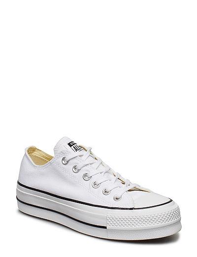 Chuck Taylor All Star Lift Niedrige Sneaker Weiß CONVERSE
