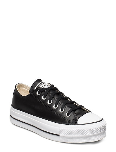 Ctas Lift Clean Ox Black/Black/White Niedrige Sneaker Schwarz CONVERSE