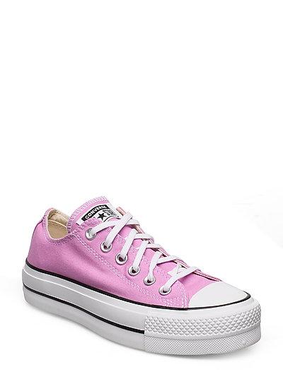 Chuck Taylor All Star Lift Niedrige Sneaker Pink CONVERSE
