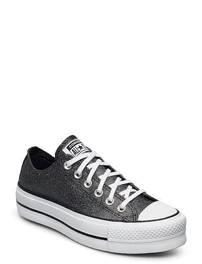 Chuck Taylor All Star Lift Niedrige Sneaker Grau CONVERSE