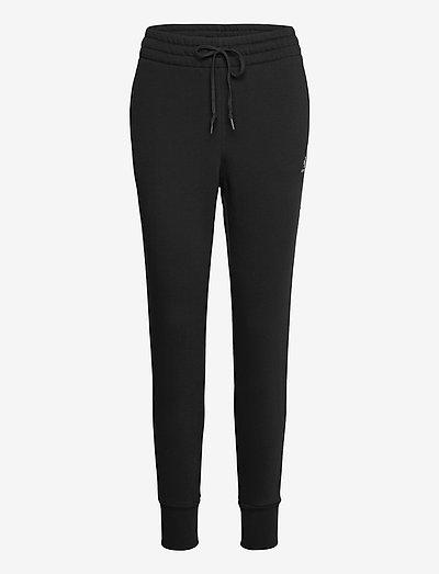EMBROIDERED STAR CHEVR PANT BB BLACK - collegehousut - black