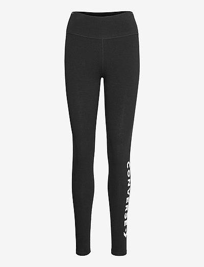 WOMENS WORDMARK LEGGING BLACK - leggings - black
