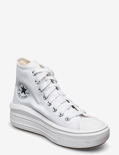 CHUCK TAYLOR ALL STAR MOVE - korkeavartiset tennarit - white
