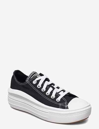 CTAS MOVE OX BLACK/WHITE/WHITE - kengät - black/white/white