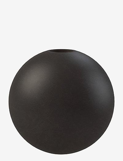 Candlestick Ball 10cm - kynttilänjalat - black