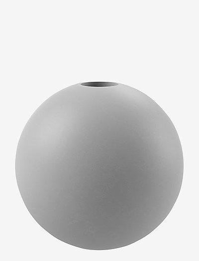 Candlestick Ball 10cm - kynttilänjalat - grey