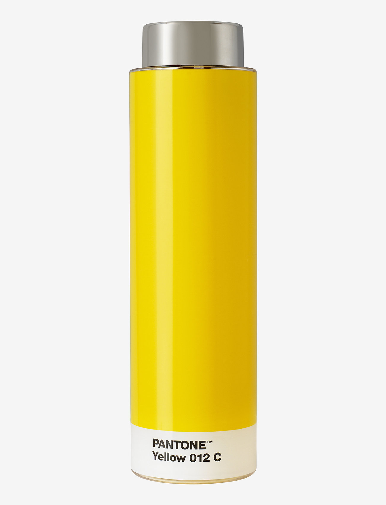 PANTONE - DRINKING BOTTLE TRITAN - vesi- ja lasipullot - yellow 012 c - 0