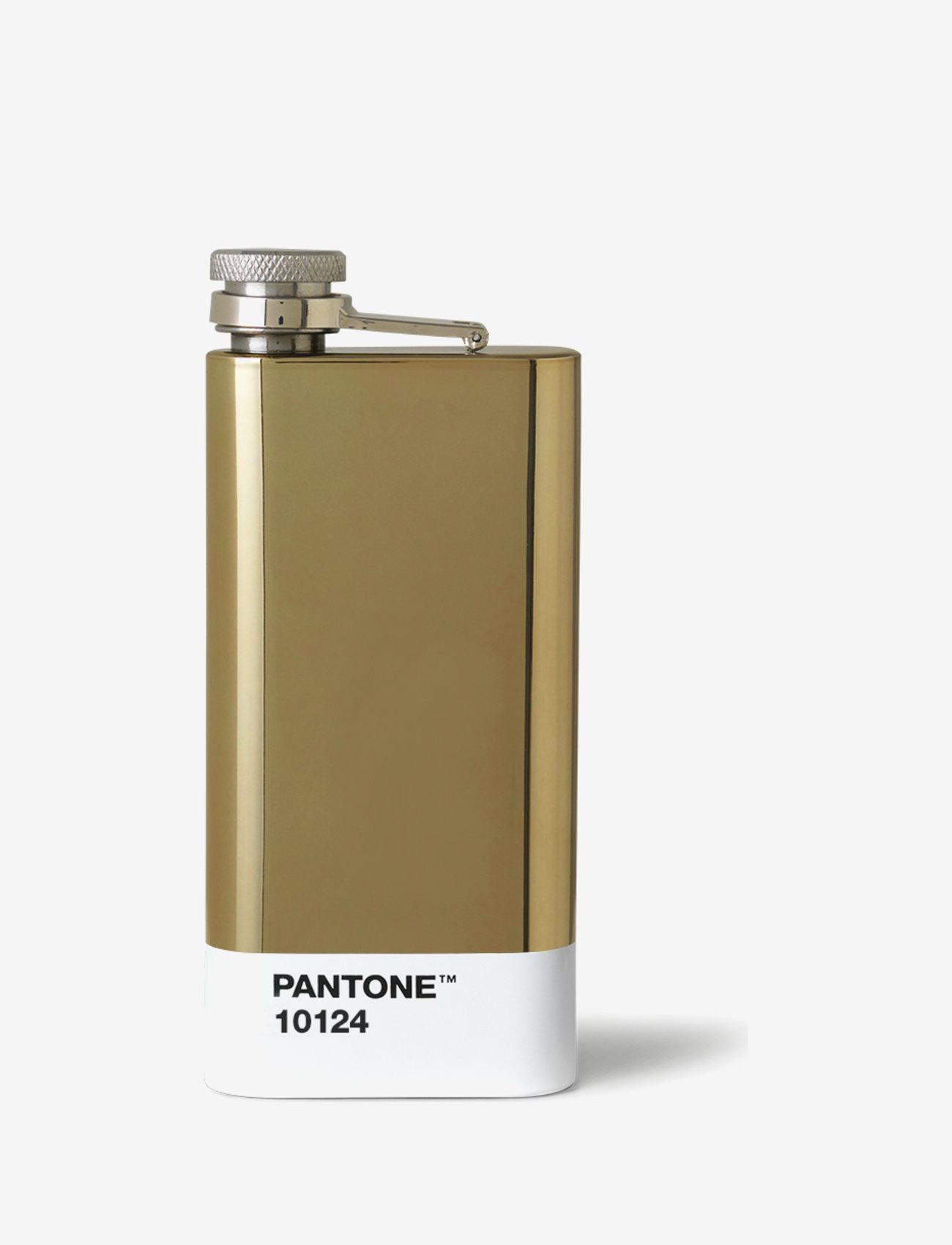 PANTONE - HIP FLASK - vesi- ja lasipullot - gold 10343 c - 0