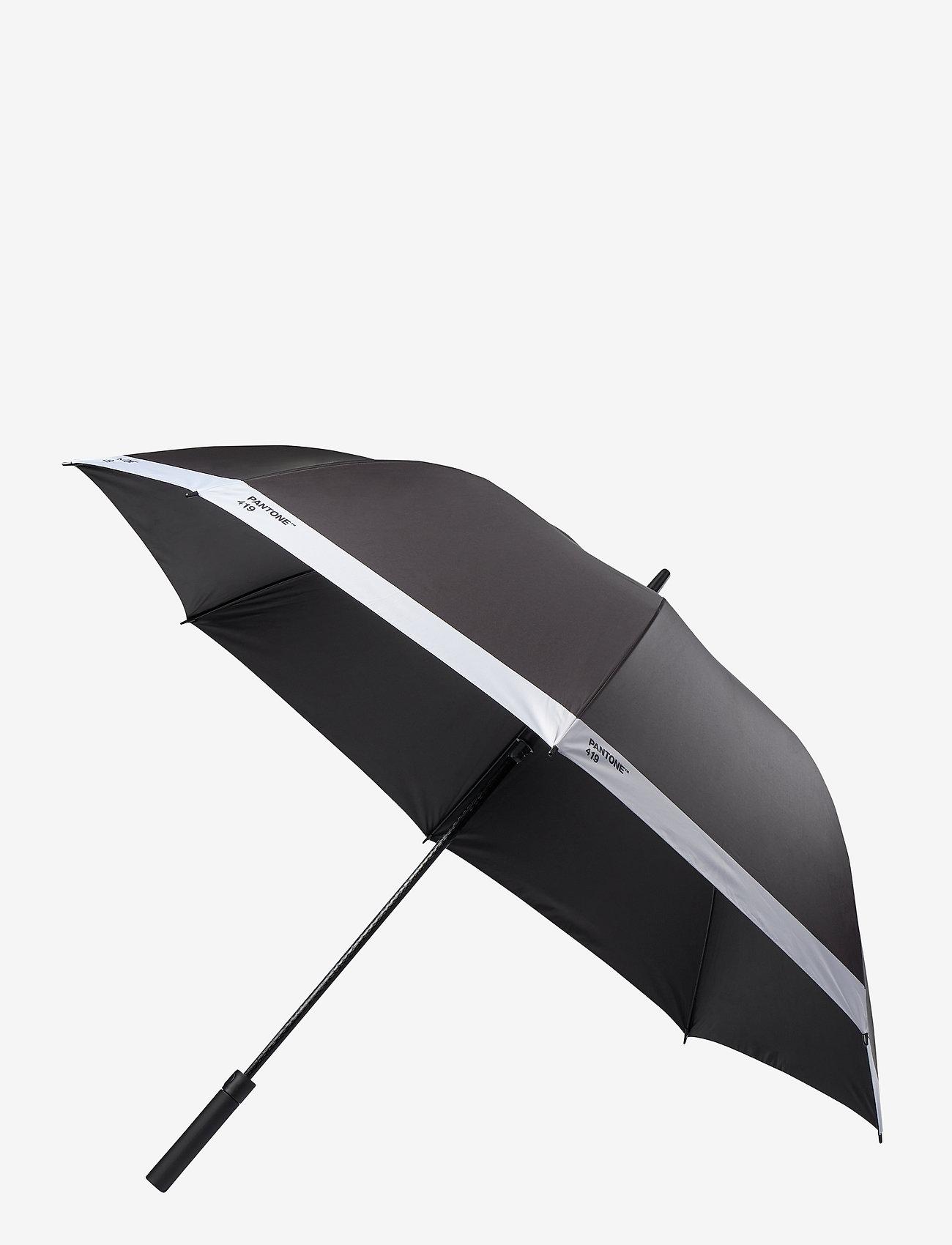 PANTONE - UMBRELLA LARGE - paraplyer - black 419 c - 0