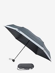 PANTONE - UMBRELLA FOLDING IN CARRY CASE - paraplyer - cool gray 9 c - 0