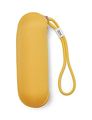 PANTONE - UMBRELLA FOLDING IN CARRY CASE - paraplyer - yellow 012 c - 1