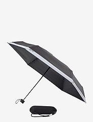 PANTONE - UMBRELLA FOLDING IN CARRY CASE - paraplyer - black 419 c - 0