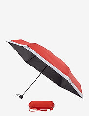 PANTONE - UMBRELLA FOLDING IN CARRY CASE - paraplyer - red 2035 c - 0