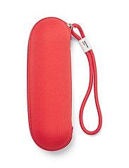 PANTONE - UMBRELLA FOLDING IN CARRY CASE - paraplyer - red 2035 c - 1