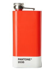 HIP FLASK - RED 2035 C