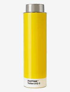 DRINKING BOTTLE TRITAN - vesi- ja lasipullot - yellow 012 c