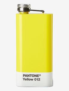 HIP FLASK - vattenflaskor & glasflaskor - yellow 012 c
