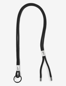 ADJUSTABLE LANYARD - nyckelringar - black 419 c