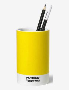 PENCIL CUP - kodinsisustus - yellow 012