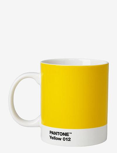 MUG - kahvikupit - yellow 012 c
